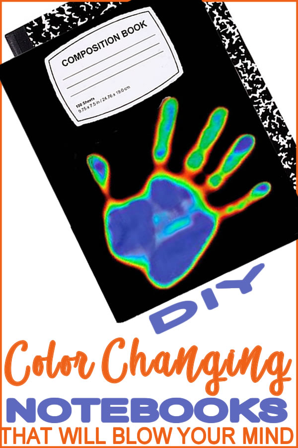 Coolest Color Changing Notebook_DIY Notebook Cover_School Supplies_Crafts___