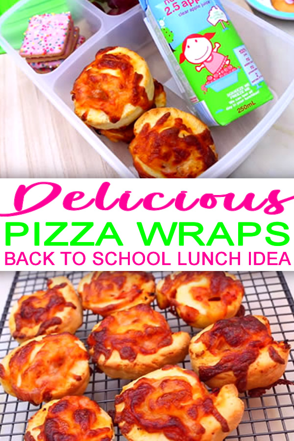 DIY Healthy Pizza Wraps_Back to school lunch idea for kids_