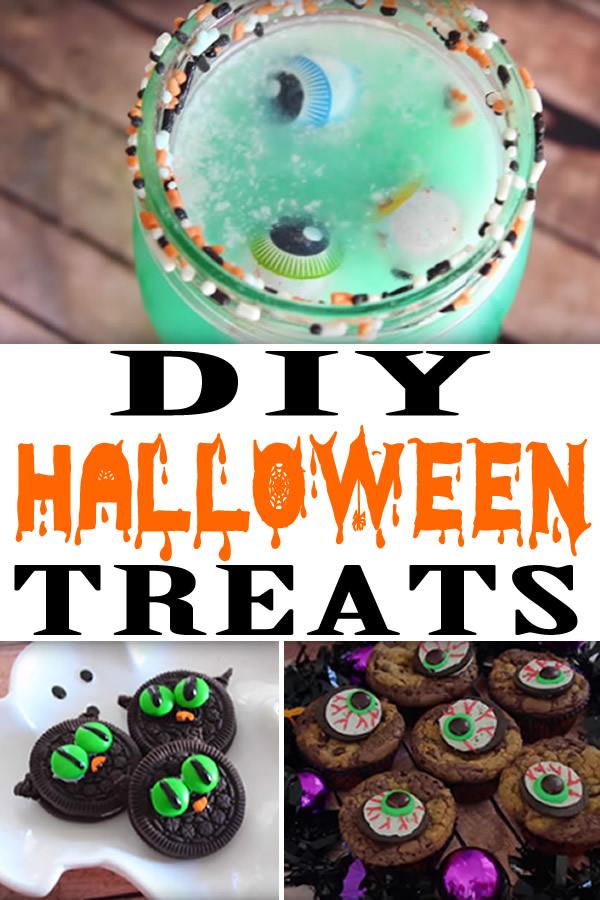 Halloween Treats_Easy DIY Halloween Treats For Parties & Desserts
