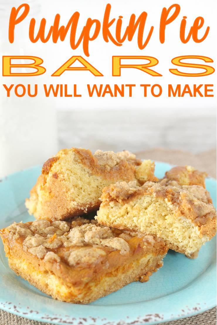 Pumpkin Pie Bars_Easy Homemade Dessert Recipe_DIY Pumpkin Pie Squares - leftover recipe-