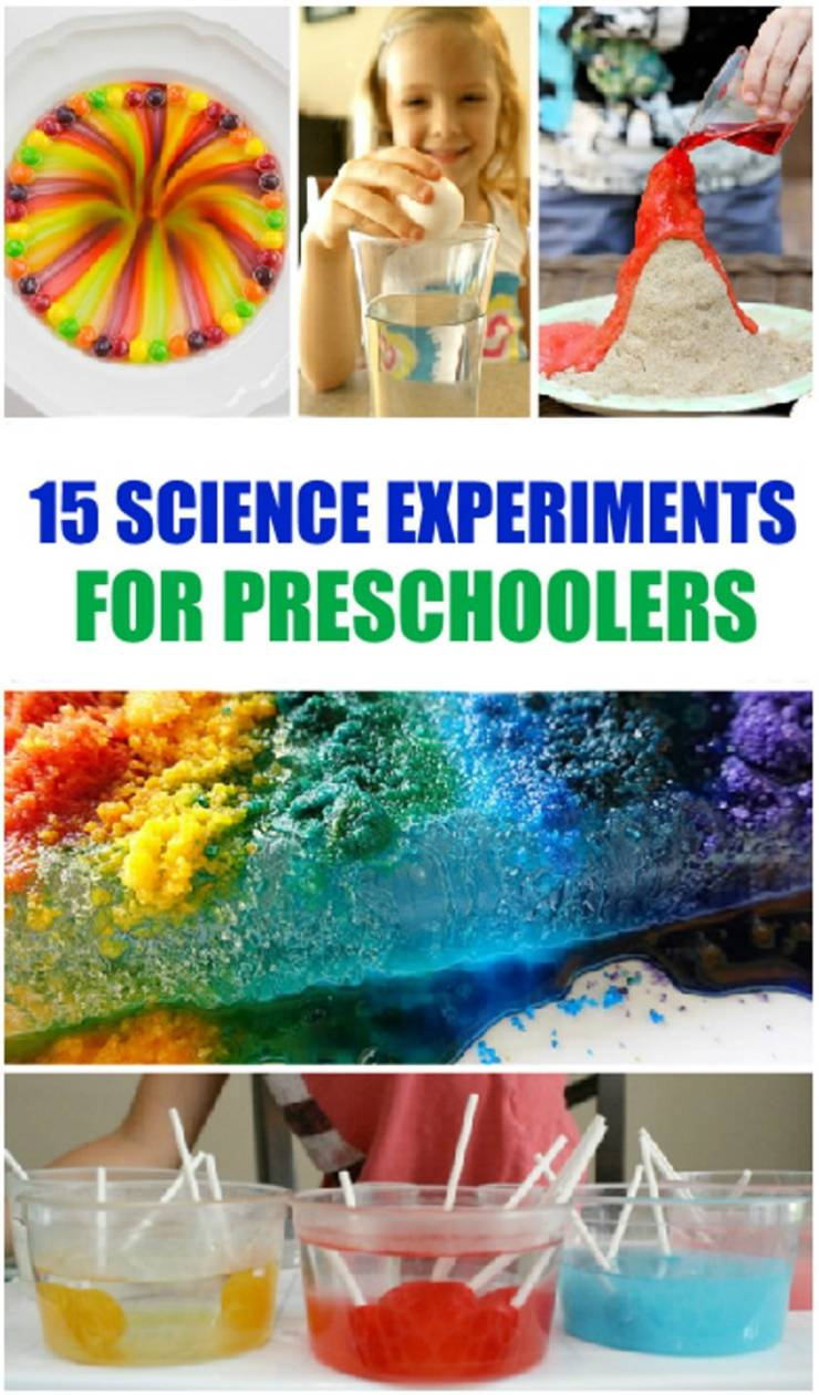 Science Experiments For Preschool_science activities for kids