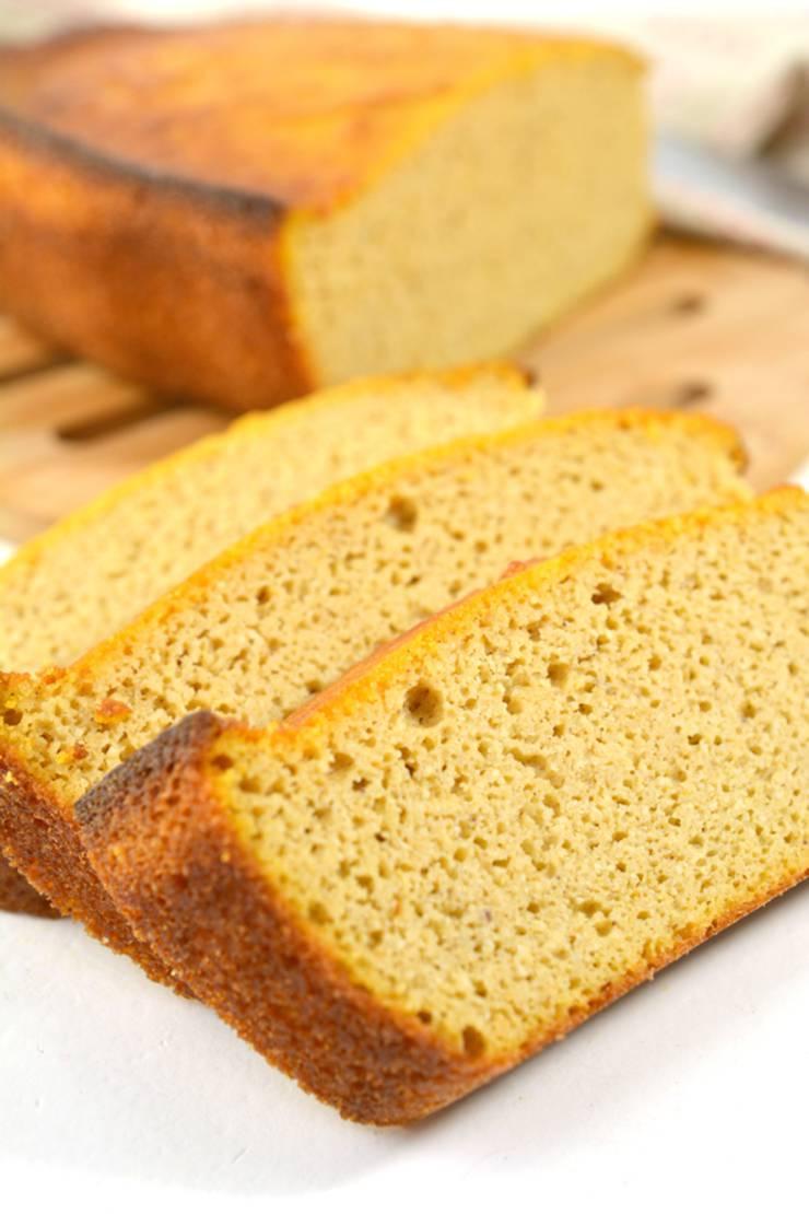 BEST Keto Bread - Low Carb Pumpkin Spice Bread Idea – Quick & Easy Ketogenic Diet Recipe – Completely Keto Friendly Loaf Bread