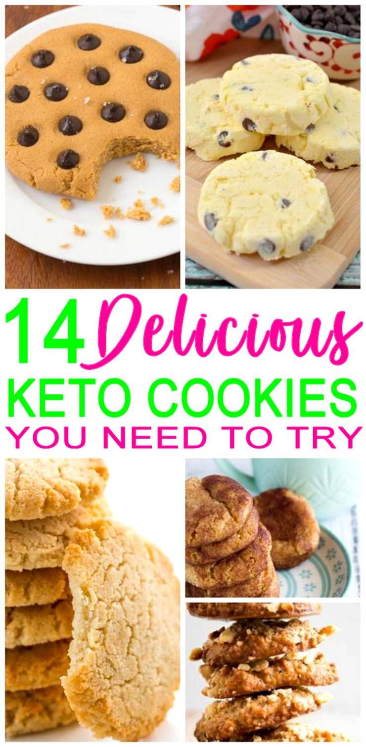 Keto-Cookies - low carb cookie recipes