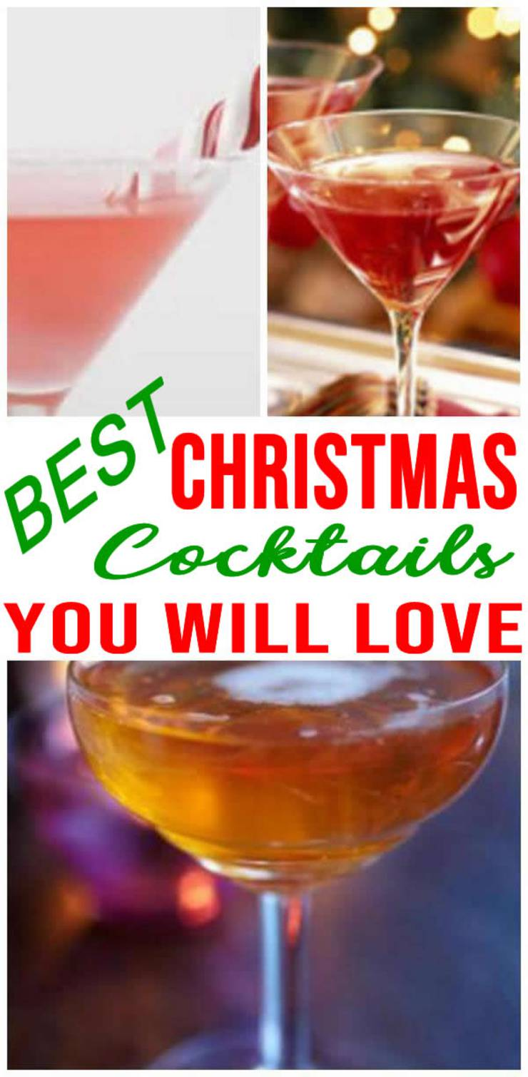 Christmas-Drinks and Cocktails