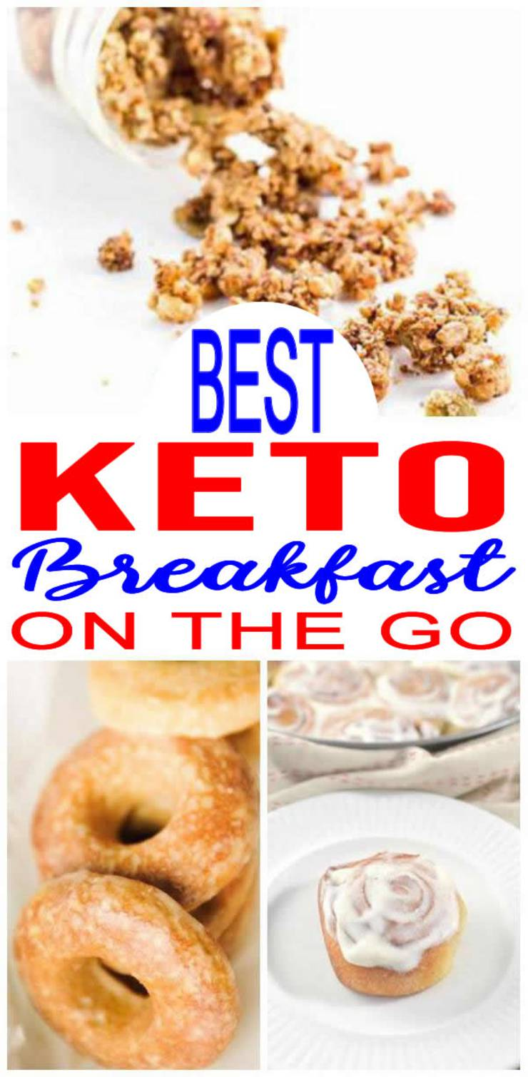 Keto Breakfast On The Go Ideas! BEST Low Carb Make Ahead Breakfast Recipes – Easy and Quick Mornings On Ketogenic Diet