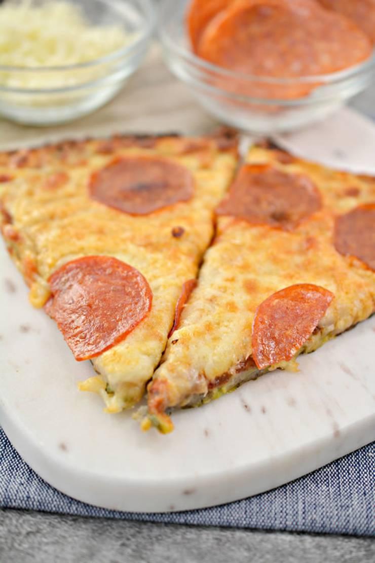 Keto Zucchini Pizza