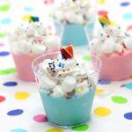 Unicorn Pudding Cups_BEST Unicorn Party Idea_Dessert Cups_Unicorn Party Favors_1