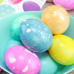 BEST Dyed Easter Eggs_How To Dye Easter Eggs With Oil and Water_EASY DIY Easter Egg Decorating Ideas Kids Will Love