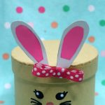 Dollar Store Easter Decor - Easy DIY Crafts - How To Make Easter Bunny Box - Simple Spring Decor Ideas For The Home - Dollar Tree Hacks