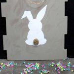 Dollar Store Easter Decor - Easy DIY Crafts - How To Make Farmhouse Easter Sign - Simple Spring Decor Ideas For The Home - Dollar Tree Hacks