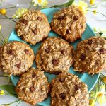 Weight Watchers Cookies_BEST WW Banana Oatmeal Chocolate Chip Cookies Recipe_Dessert_Breakfast_Treat_Snack with Smart Points