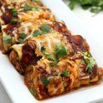 Keto Zucchini Chicken Enchiladas - BEST Low Carb Recipe