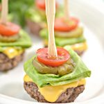Keto Mini Burger Bites – EASY Low Carb Keto Ground Beef Burger Bites Recipe – BEST Dinner – Lunch – Snack - Appetizer Idea