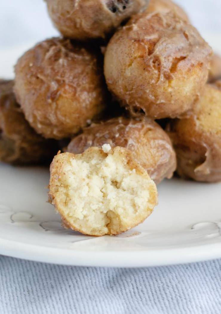 Keto Donuts | Super Yummy Low Carb Donut Holes Recipe | Glaze Donuts For Ketogenic Diet