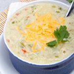 BEST Keto Soup! Low Carb Keto Keto Chicken Fajita Soup Idea – Quick & Easy Ketogenic Diet Recipe – Completely Keto Friendly - Mexican Food Dinner Idea