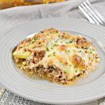 Keto Lasagna Casserole - BEST Low Carb Lasagna Recipe {Easy Meal} No Noodle Lasagna
