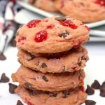 Kids Party Food! BEST Cherry Garcia Cookies Recipe – Easy – Cheap Ideas - Simple Desserts – Snacks – Kids Parties - Slumber Party Food