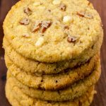 Keto Cookies! BEST Low Carb Caramel Pecan White Chocolate Chip Cookie Recipe - Easy Ketogenic Diet Idea - Desserts - Treats - Snacks