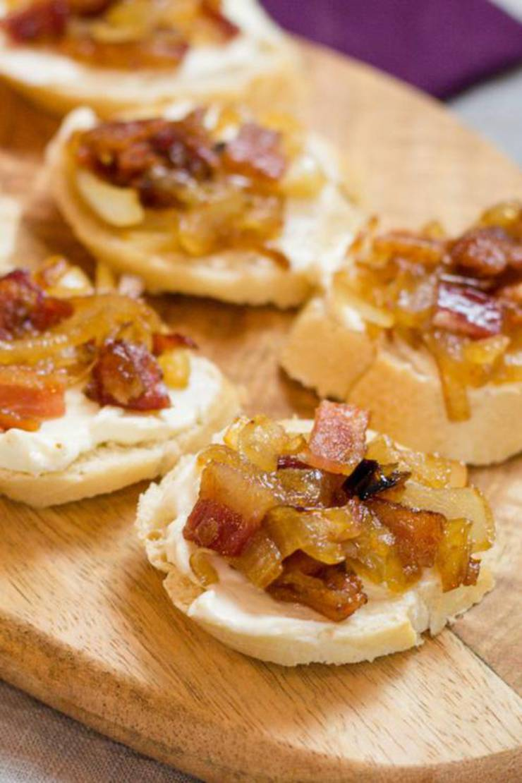 Caramelized Maple Bacon Appetizer Bite