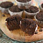 3 Ingredient Keto Mini Muffins – BEST Double Chocolate Mini Muffins – {Easy} NO Sugar Low Carb Recipe - Beginner Keto Friendly – Breakfast - Snacks – Desserts