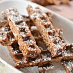 BEST Keto Chaffles! Low Carb Brownie Fries Chaffle Idea – Homemade – Quick & Easy Ketogenic Diet Recipe – Beginner Keto Friendly – Snacks – Desserts - Breakfast