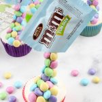 Kids Party Food! BEST Gravity M & M Cupcakes – EASY M & M Cupcakes Food Ideas – Recipes - Snacks - Desserts - Party Favors