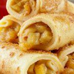 BEST Keto Cinnamon Sugar Apple Roll Ups – Low Carb Keto Cinnamon Sugar Apple Recipe – Quick and Easy Ketogenic Diet Idea