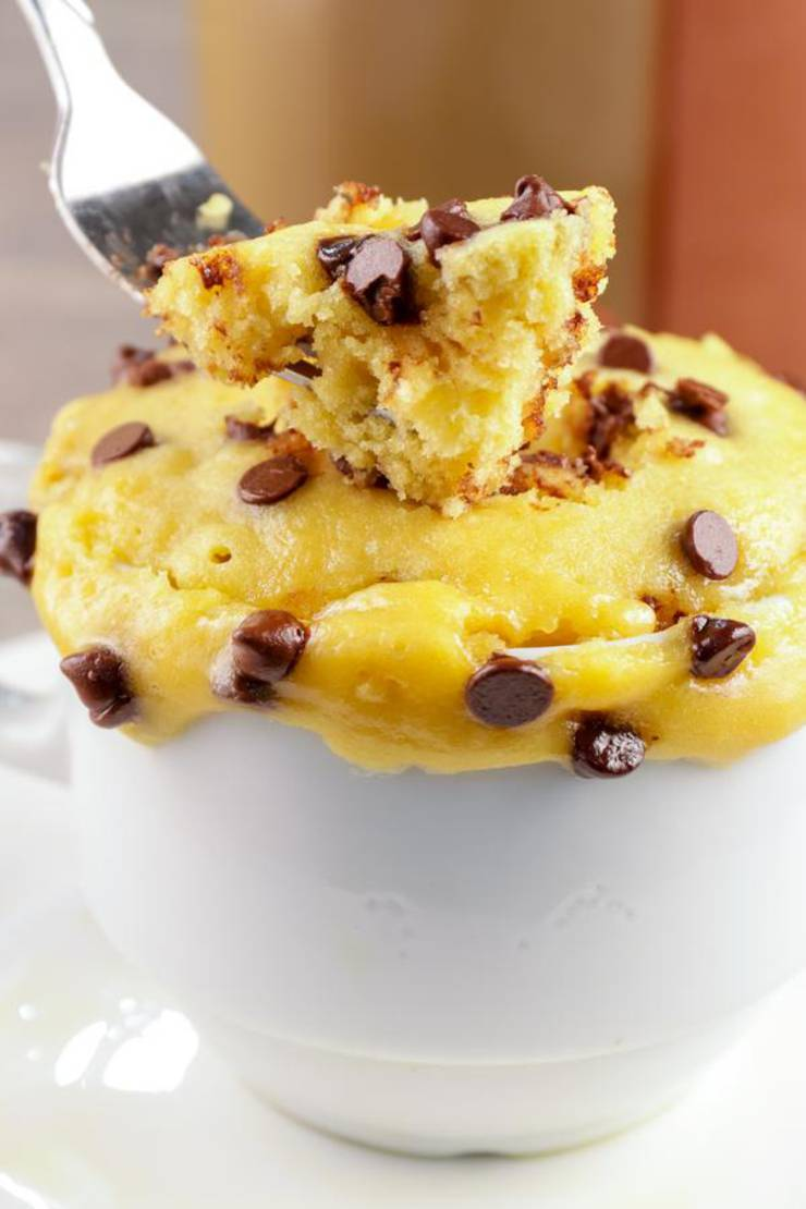 BEST Keto Mug Cakes! Low Carb Microwave Chocolate Chip Cookie Idea – Quick & Easy Ketogenic Diet Recipe – Completely Keto Friendly Baking