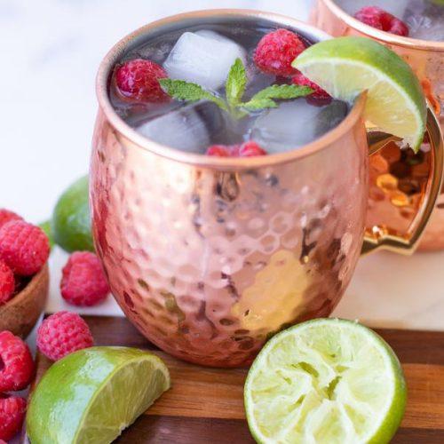 alcohol-drinks-ginger-beer-raspberry-margarita