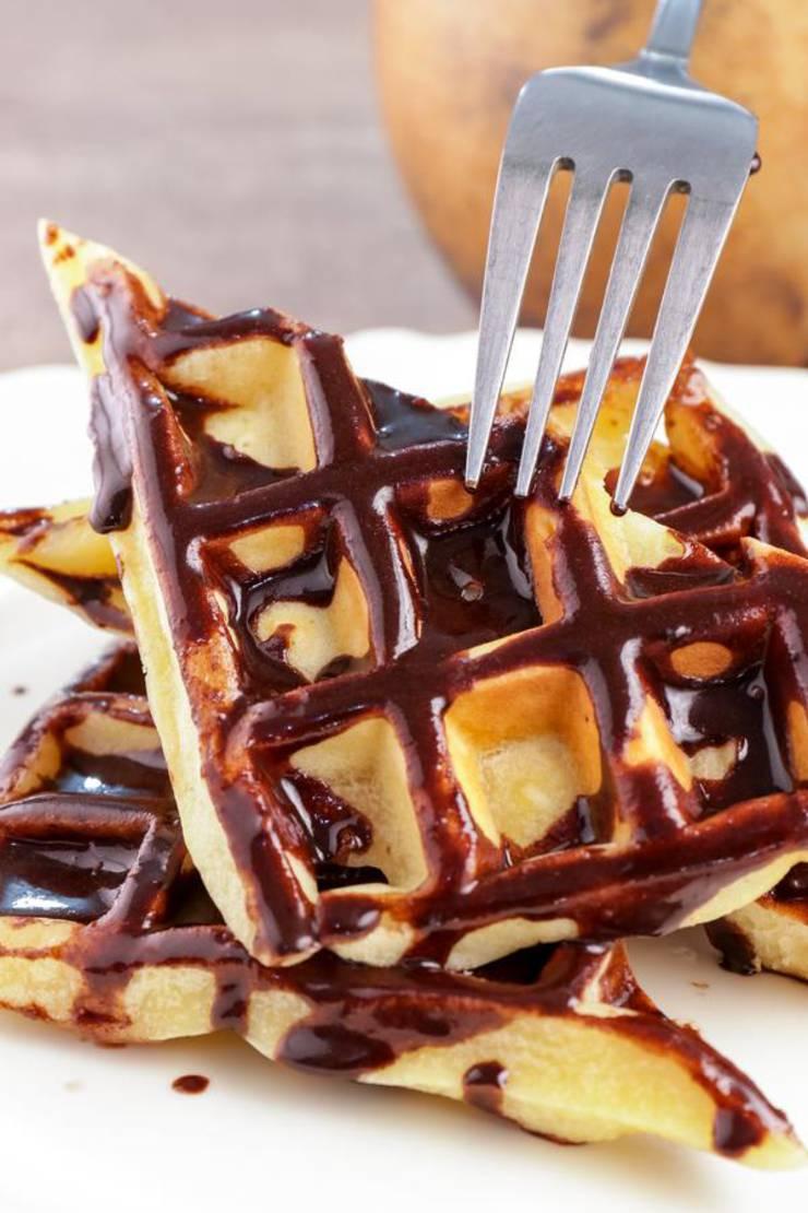 BEST Keto Donut Waffles! Low Carb Keto Chocolate Glaze Donuts Waffle Idea – Quick & Easy Ketogenic Diet Recipe – Completely Keto Friendly