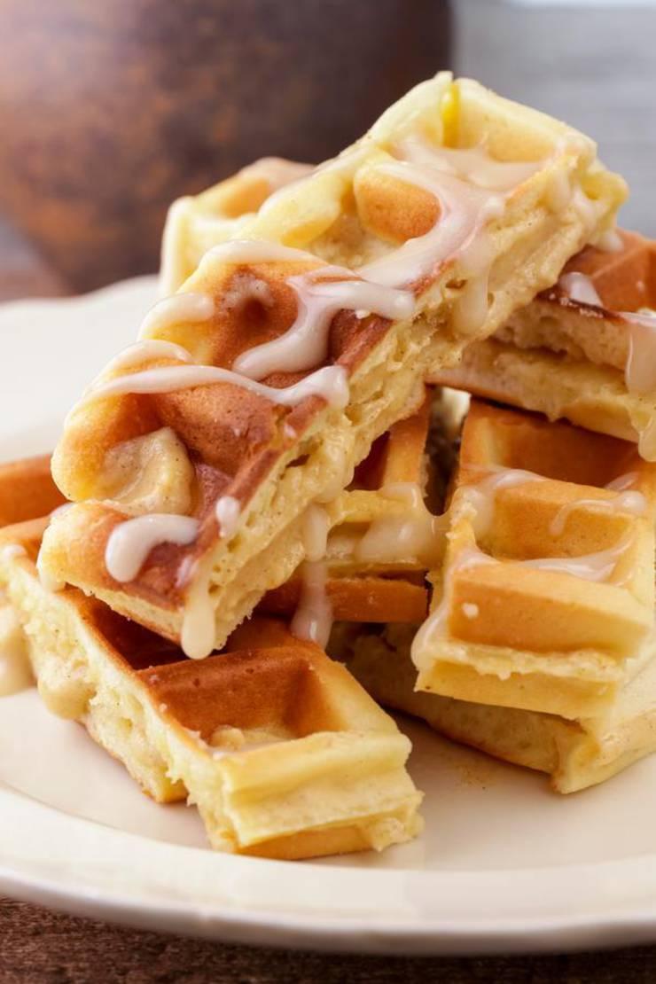 BEST Keto Cinnamon Roll Waffles! Low Carb Keto Cinnamon Roll Waffle Sticks Idea – Quick & Easy Ketogenic Diet Recipe – Completely Keto Friendly