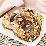 Keto Donuts – BEST Low Carb Keto Snickers Donut Recipe – Quick and Easy Ketogenic Diet Snickers Candy Idea – Snacks – Desserts