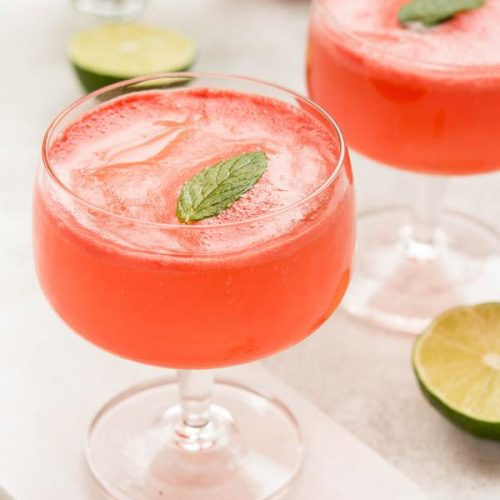 Keto Cocktail – BEST Low Carb Keto Vodka Alcoholic Drink Recipe – Sparkling Watermelon Vodka – Easy & Simple For Ketogenic Diet