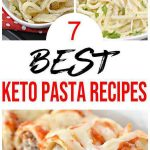 7 Keto Pasta Recipes – BEST Low Carb Keto Pasta Ideas – Easy Ketogenic Diet Lunch – Dinner – Side Dishes