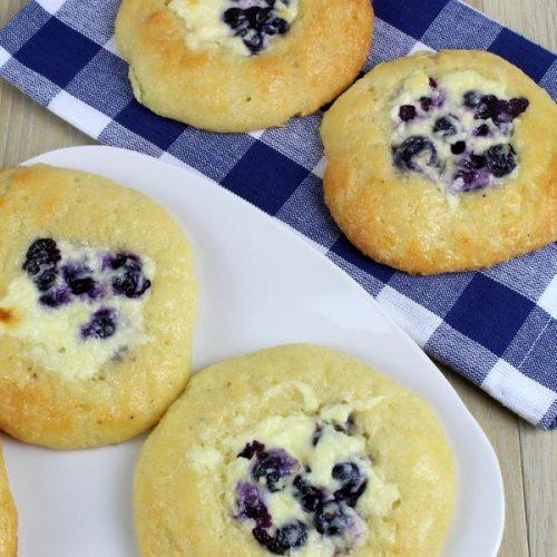 Keto Breakfast – BEST Low Carb Keto Blueberry Cream Cheese Danish Recipe – Easy – Breakfast – Desserts – Snacks – Sweets – Keto Friendly & Beginner