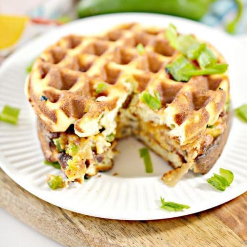 BEST Keto Chaffles! Low Carb Chaffle Idea – Homemade – Sandwich Jalapeno Popper Grilled Cheese - Quick & Easy Ketogenic Diet Recipe – Completely Keto Friendly