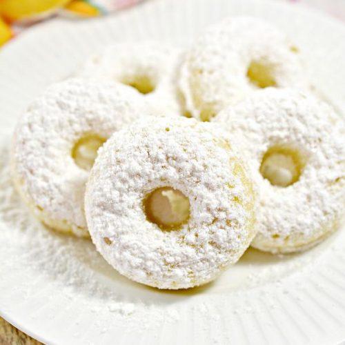 Keto Mini Donuts – Super Yummy Low Carb Copycat Hostess Powdered Sugar Mini Donettes Recipe – Treats For Ketogenic Diet – Desserts – Snacks – Breakfast