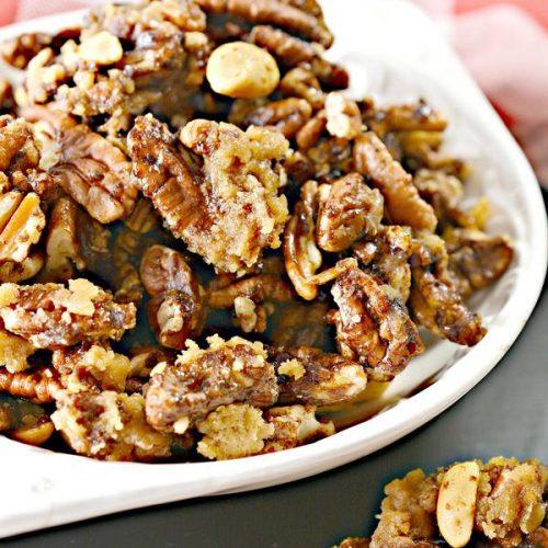 keto pecan candied cracker jacks