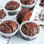 BEST Keto Muffins! Low Carb Pecan Double Chocolate Brownie Muffin Idea – Quick & Easy Ketogenic Diet Recipe – Keto Friendly - Gluten Free - Sugar Free