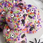 Halloween Monster Cookies – BEST Monster Eye Cookie Recipe – {Easy} Edible Sugar Cookie Monster Eyes – Party Food - Desserts – Snacks