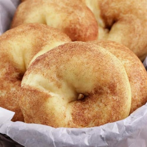 Keto Bagels! BEST Low Carb Cinnamon Sugar Fathead Dough Bagel Idea – Quick & Easy Ketogenic Diet Recipe – Completely Keto Friendly – Gluten Free