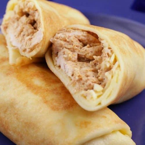 Keto Taquitos! BEST Low Carb Keto Cream Cheese Taquito Wraps - Chicken Idea – Quick & Easy Ketogenic Diet Recipe – Completely Keto Friendly