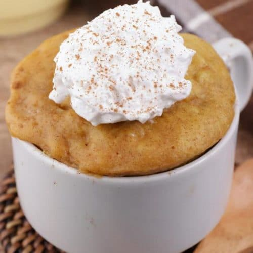 BEST Keto Mug Cakes! Low Carb Microwave Pumpkin Pie In A Mug Idea – Quick & Easy Ketogenic Diet Recipe – Completely Keto Friendly Baking – Gluten Free
