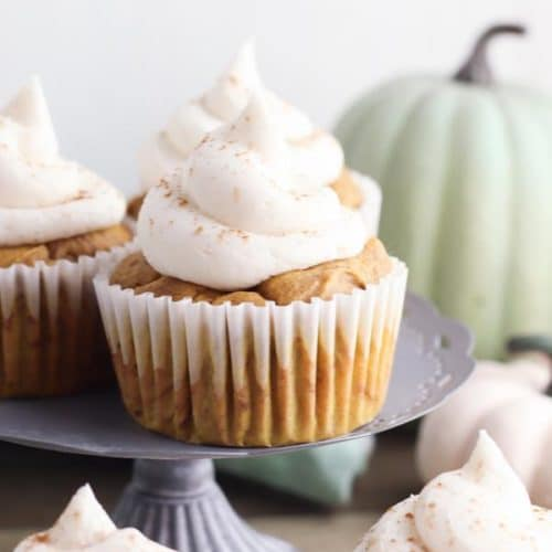 Easy Cupcakes – Super Yummy Pumpkin Spice Latte Cupcakes Recipe – Pumpkin Treats For Fall Desserts – Snacks - Party Food
