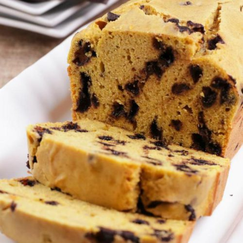 BEST Keto Bread! Low Carb Pumpkin Chocolate Chip Loaf Bread Idea – Quick & Easy Gluten Free Recipe – Beginner Keto Friendly – Snacks – Desserts