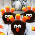 Turkey Brownies – BEST Edible Turkey Crafts – {Easy} Thanksgiving Desserts – Treats – Party Food – Desserts – Snacks