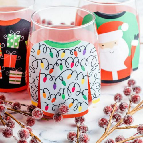 Alcoholic Drinks – BEST Ugly Christmas Sweater Margarita Punch Recipe – Easy and Simple On The Rocks Alcohol Drinks