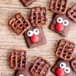 Christmas Cookies – BEST Reindeer Cookie Recipe – {Easy} Chocolate Cookies – Party Food - Desserts – Snacks