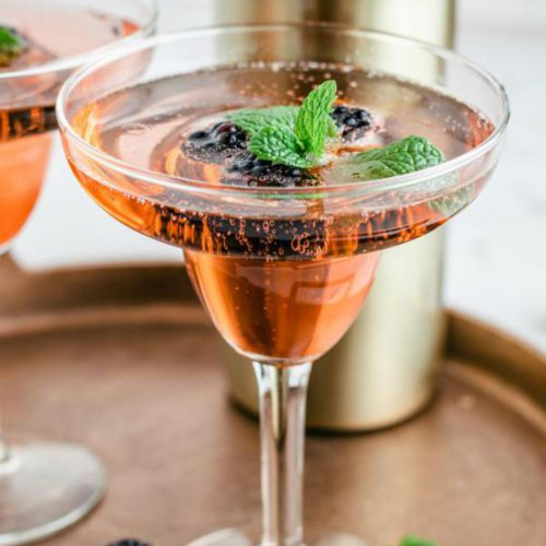 Alcoholic Drinks – BEST Champagne Cocktail Recipe – Easy and Simple Alcohol Drinks