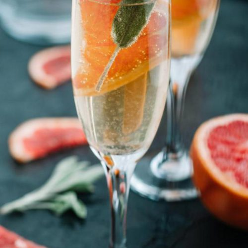 Alcoholic Drinks – BEST Champagne Mimosa Recipe – Easy and Simple Cocktail Drinks
